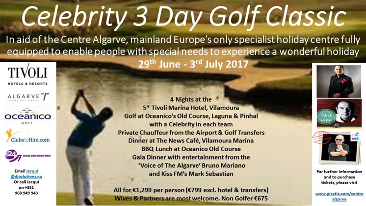 Celebrity 3 Day Golf Classic