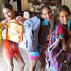Back Pack drive for poor children returning to school