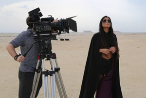 His most recent and highly acclaimed project, 'Crude', is an experimental film shot in the middle east
