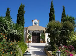 St Luke's: Anglican church at Monte Palagueira