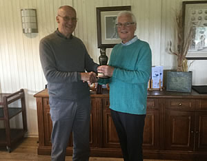 The trophy presentations were made by Alan Camplin-Smith