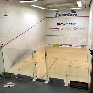 Squash: Rui Soares exits the Savcor Finnish Open