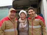 Carolien with her marvellous Red Cross friends