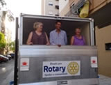 Rotary delivers chiller truck
