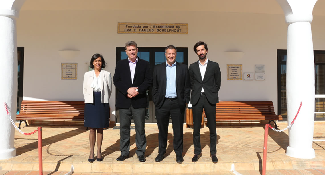 Maria Tomé - Head of International, Mike Farrer - Head of School, Brian Rogrove - CEO Changed Edu, Francisco Claro - Head of National