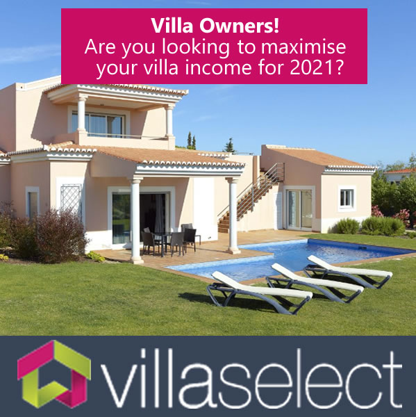 VILLA SELECT AIM TO GROW THEIR ALGARVE VILLA RENTAL PORTFOLIO FOR 2021
