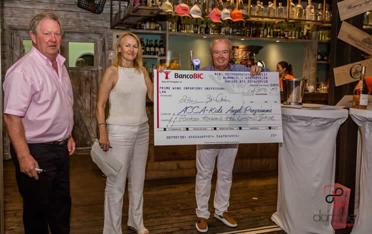 Laranjal Golf Club raises thousands for charity