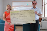 Four Seasons Fairways Present ACCA With €1000 Cheque