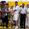 Bombeiros 'booted up' by Balaia Bowls Club