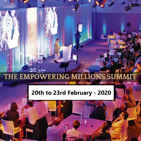 The Empowering Millions Summit 2020 - 20th to 23rd February
