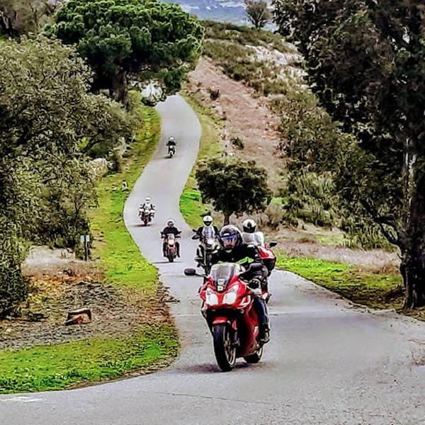 Algarve Senior Bikers Up In The Clouds