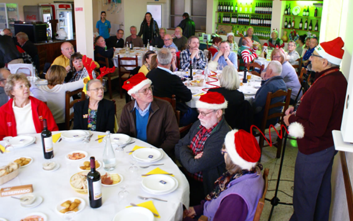 Algarve Senior Bikers Annual Charity Lunch 2019