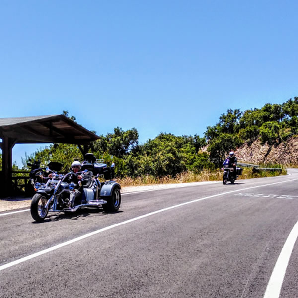 Algarve Senior Bikers cautious return to the roads