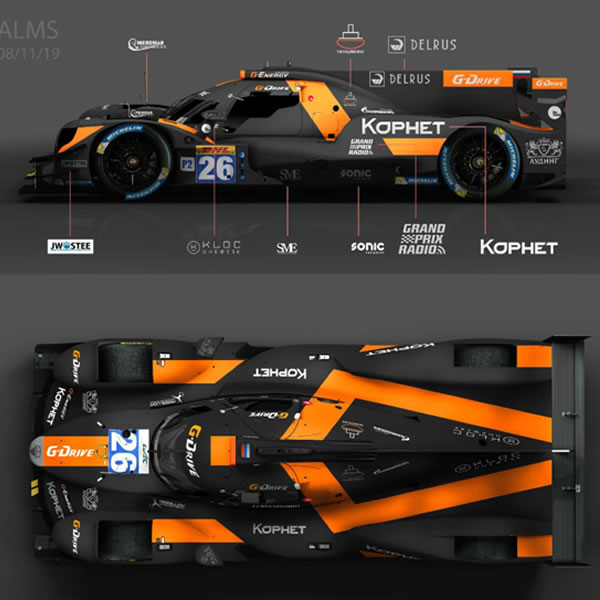 G-Drive Racing by Algarve set for 2019-20 Asian Le Mans Series