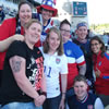 Some of the American fans