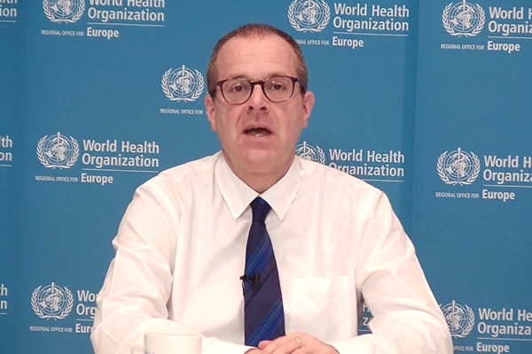 World Health Organization highlights increase in cases, but lower mortality