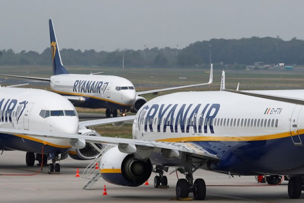 Ryanair reduces flight capacity in Portugal this winter