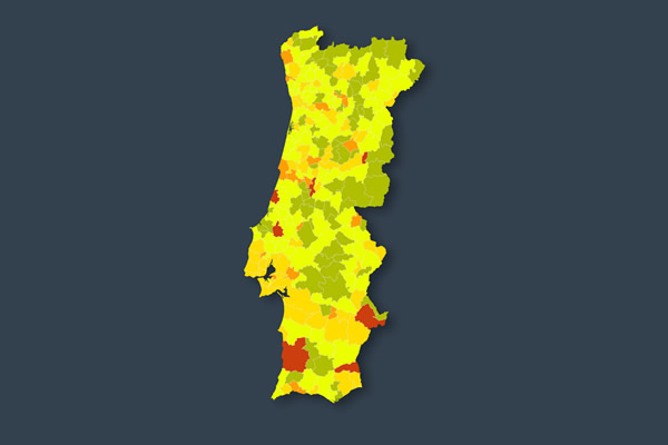 Dr Photo - COVID-19: THE PORTUGAL RISK MAP CONTINUES TO IMPROVE