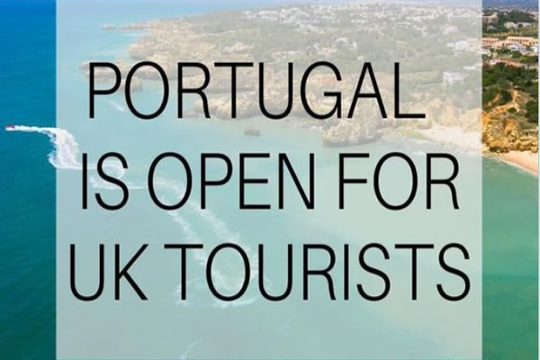 PORTUGAL IS OFFICIALLY OPEN FOR BRITISH TOURISTS, FROM MAY 17TH