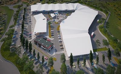 Dr Photo - NEW RETAIL PARK IN ALCANTARILHA TO OPEN SUMMER 2022