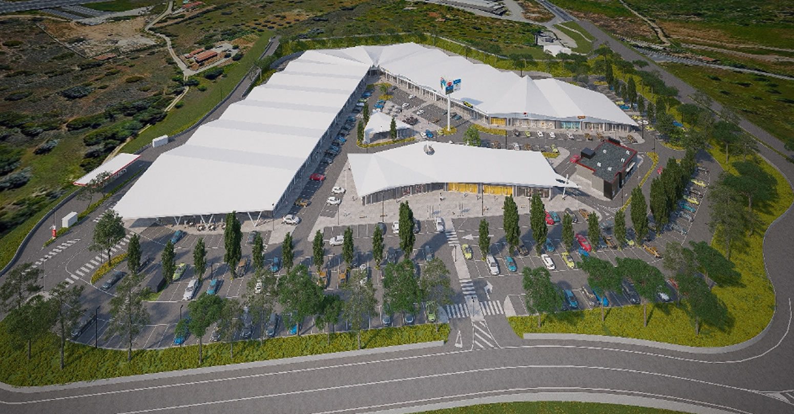 New retail park in Alcantarilha to open summer 2022