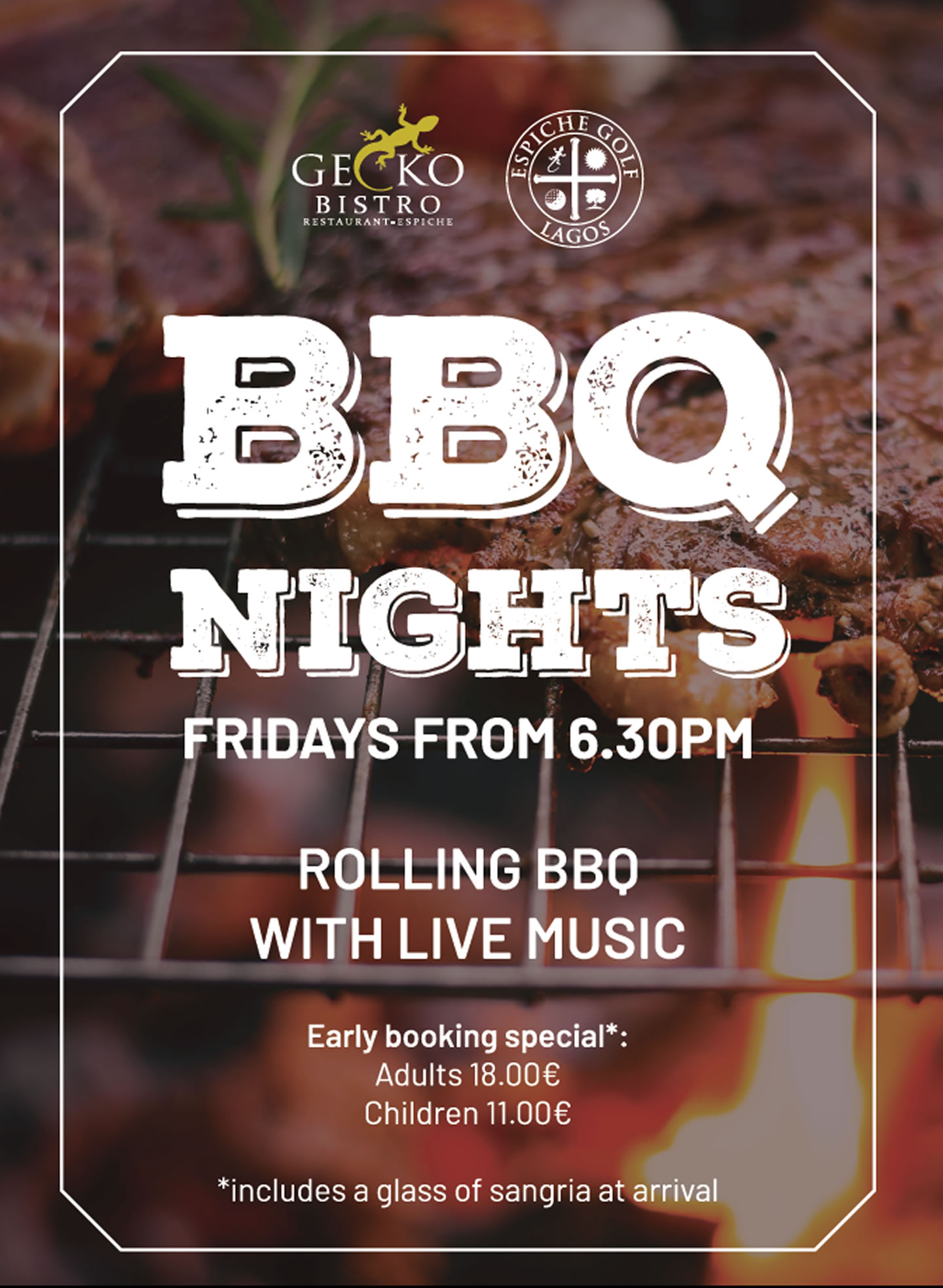 BBQ Nights At Gecko Bistro, Every Friday
