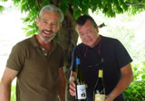 James Mayor with Tony Smith at Quinta de Covela