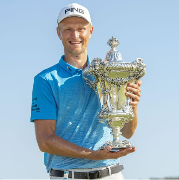 Adrian Meronk, winner of the  57° Open de Portugal @ Morgado Golf Resort