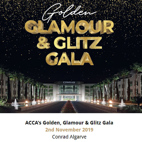 ACCA's Golden, Glamour & Glitz Gala - Nov 2nd