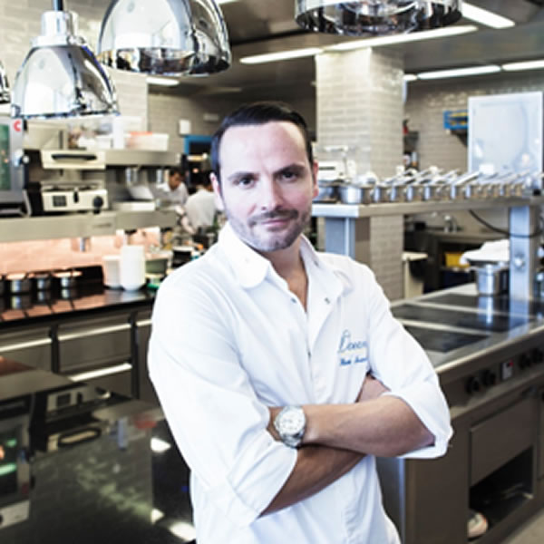 Chef Hans Neuner of Ocean Restaurant (2 ** Michelin) ranked among the 25 best restaurants in the world in La Liste 2020