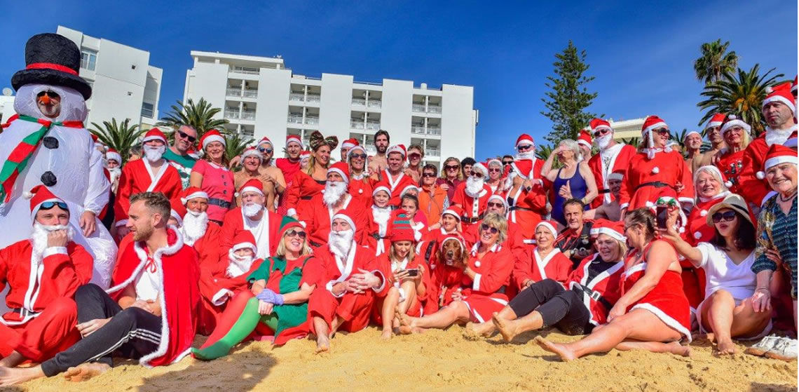 Santa Swim 2018 - photo by Diogo Correia