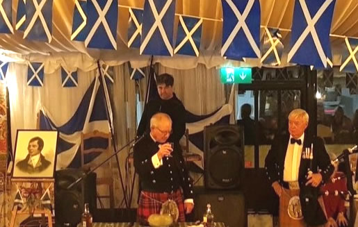 Algarve Burns Supper 2019