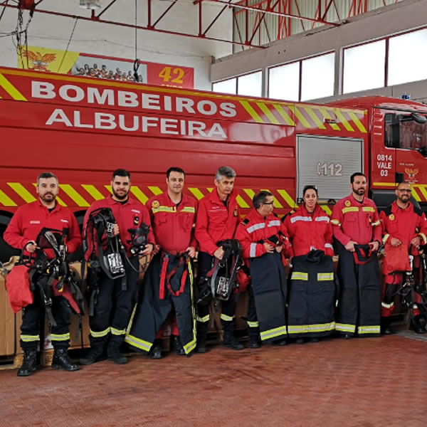 UK Fire Initiative Benefits Albufeira & Silves Firefighters