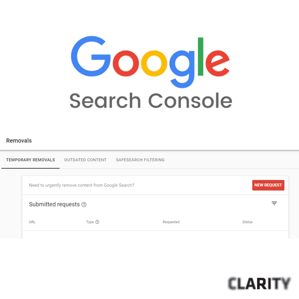 Google Search Console tips by Clarity