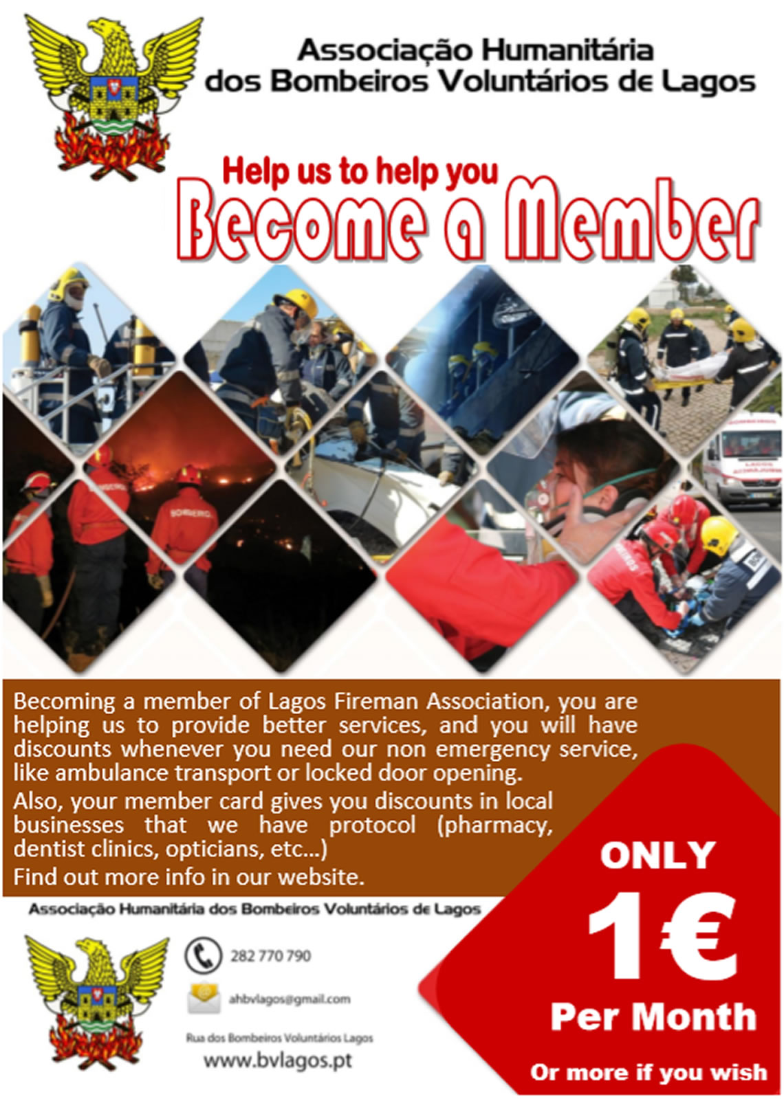 Support The Lagos Firemen From Just €1