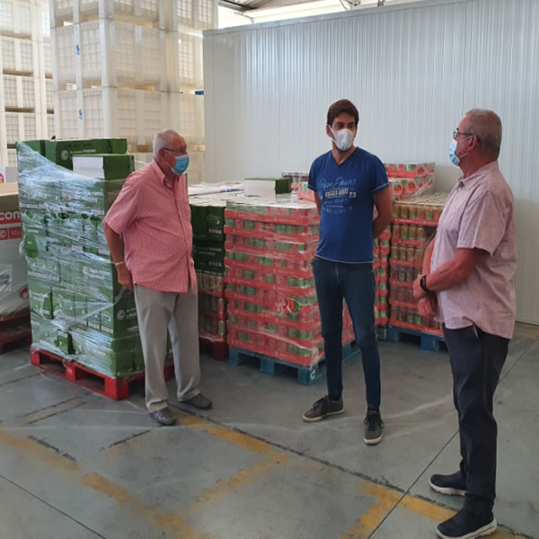 afpop delivers food to Banco Alimentar Contra a Fome