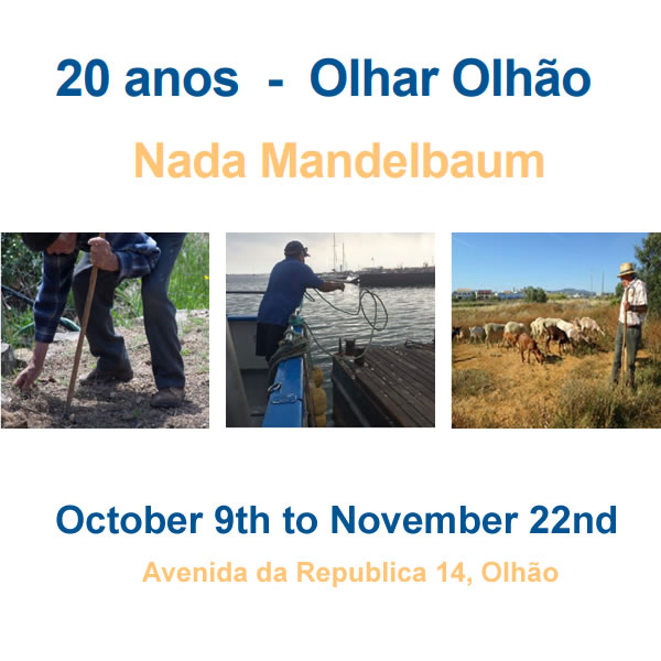 """20 ANOS…OLHAR OLHÃO"" EXHIBITION - OPENS OCT 9TH"