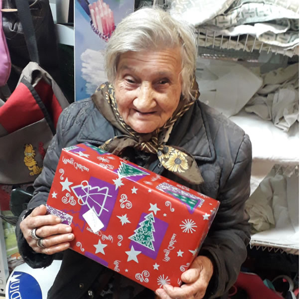 Christmas Shoeboxes Once Again Bring Joy To The Elderly