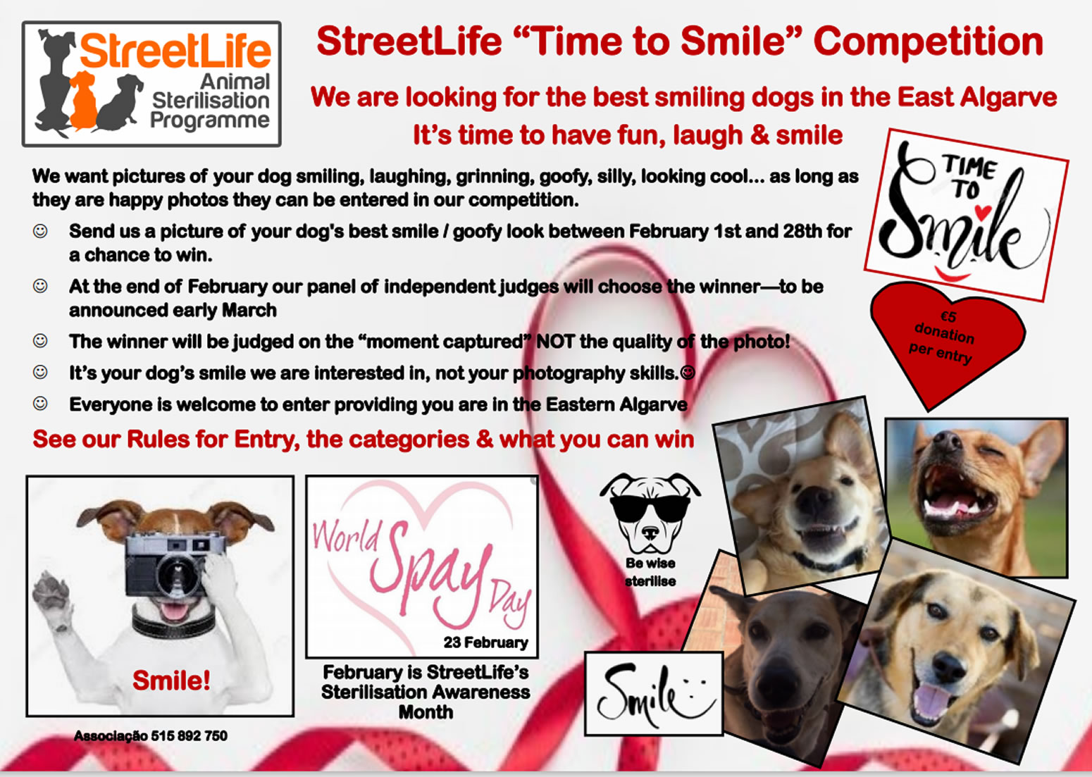 "STREETLIFE ""IT'S TIME TO SMILE"" COMPETITION"