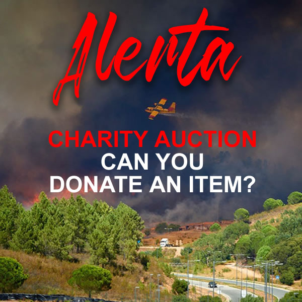 Item Donations Wanted For Bombeiros Algarve Auction