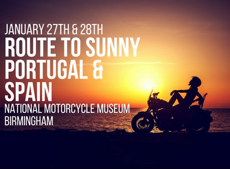 Route to Sunny Portugal & Spain - Jan 27/28