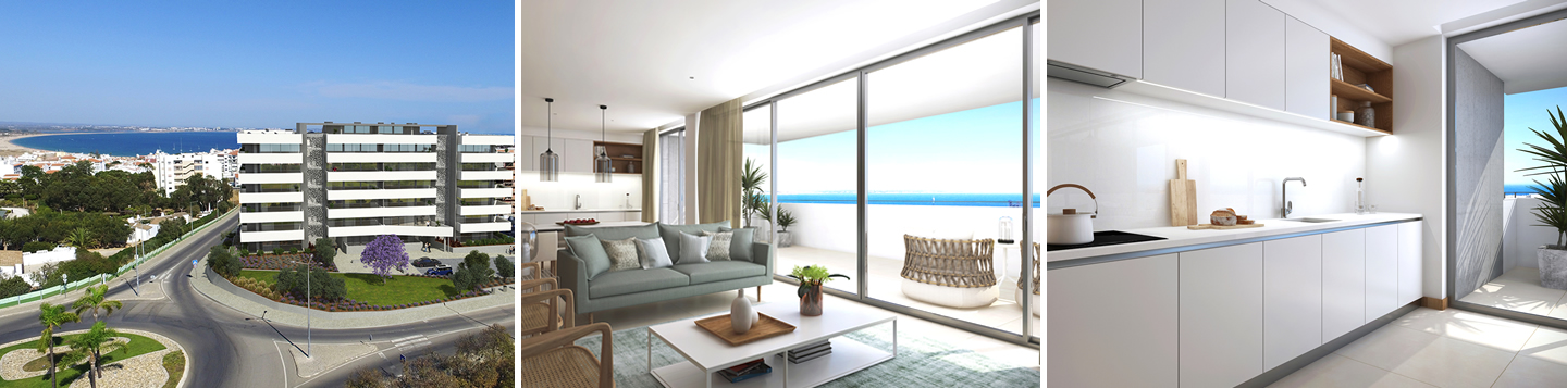 Luxury 2 and 3 bedroom apartments for sale Lagos, Algarve