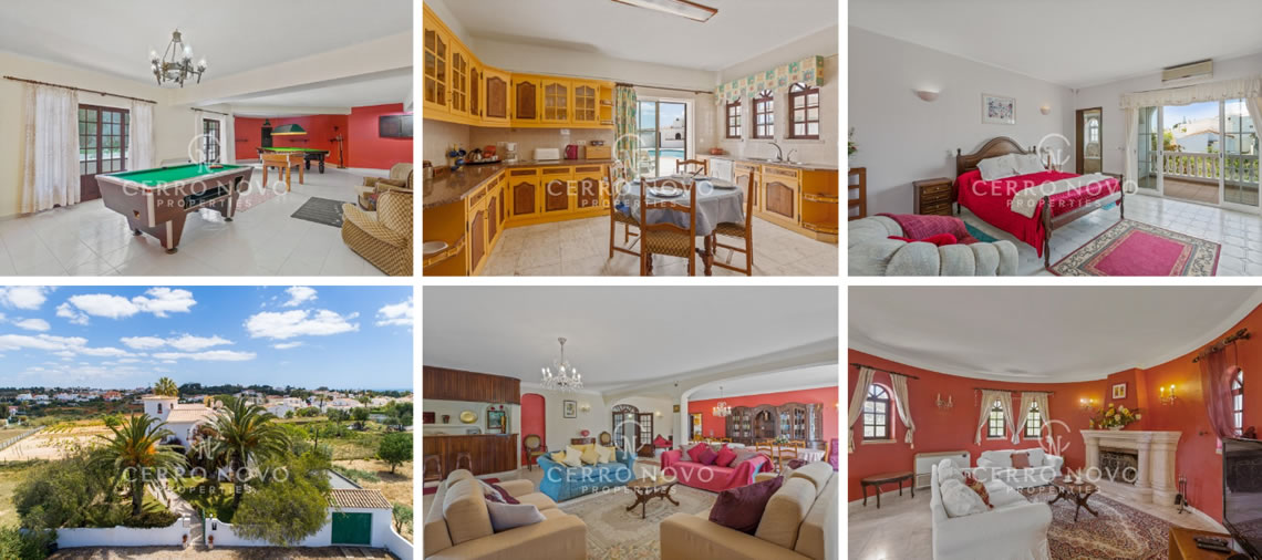 A Substantial, Traditional villa located a few moments walk to Castelo Beach