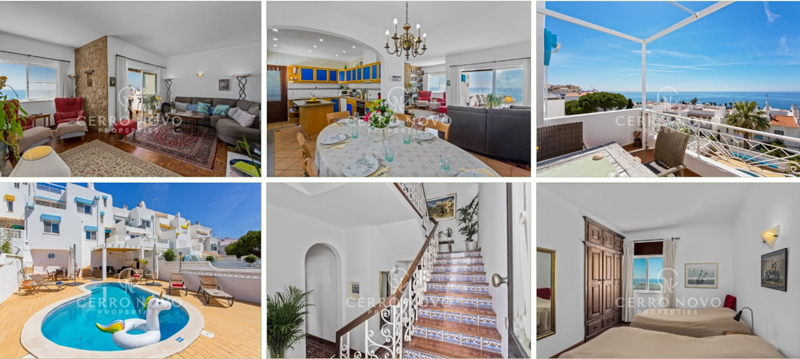Large Townhouse with Magnificent Ocean Views Exclusive to Cerro Novo Properties