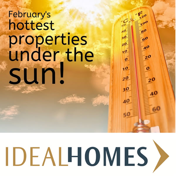 February's Hottest Properties under the Sun!