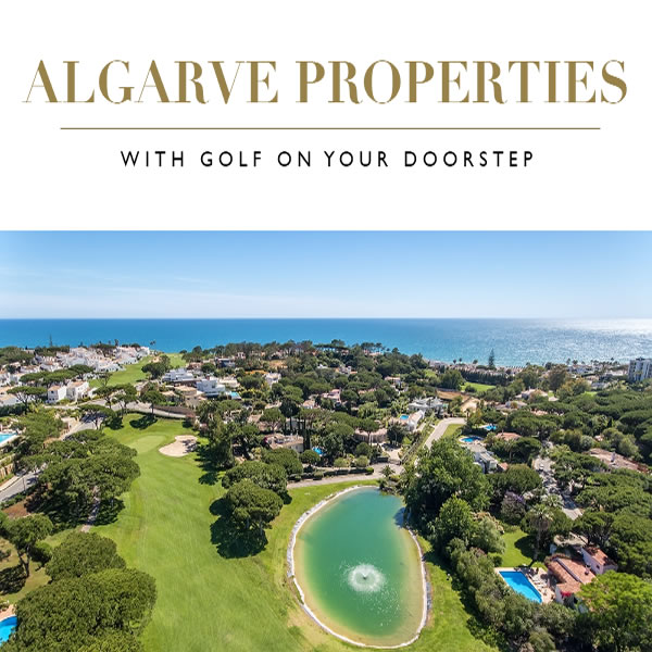 ALGARVE PROPERTIES WITH GOLF ON YOUR DOORSTEP