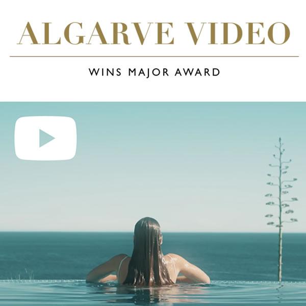 Algarve Best Regional Destination Video Wins a Golden Star Award