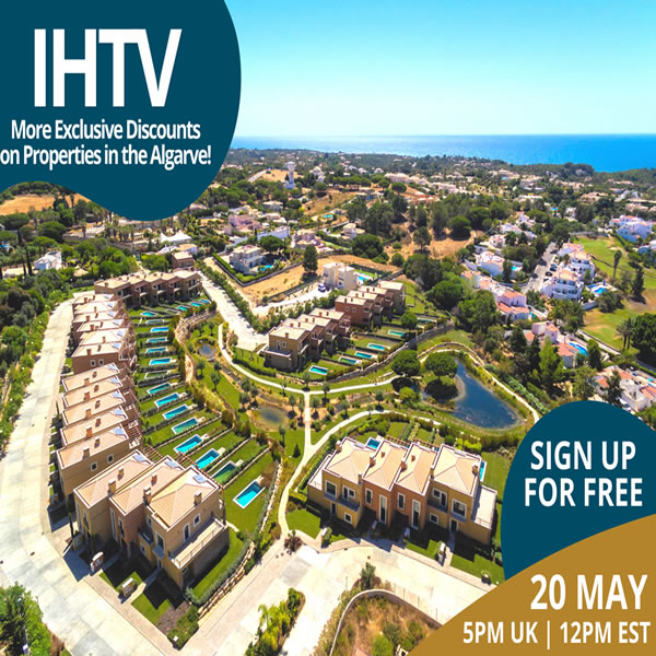 IHTV - Episode 5 - More Exclusive Discounts on Property in the Algarve!