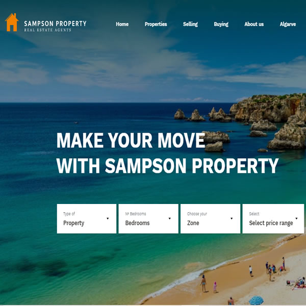 Sampson Property launch their NEW website!