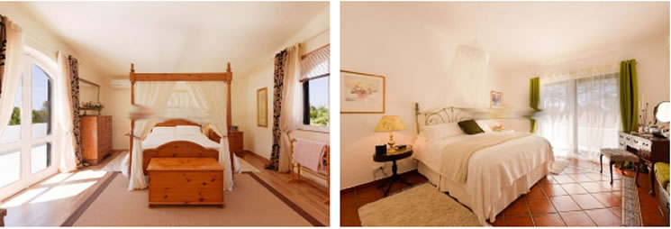 There are two master bedroom suites, plus 2 further double bedrooms